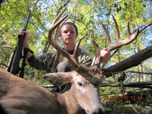 world class deer hunt