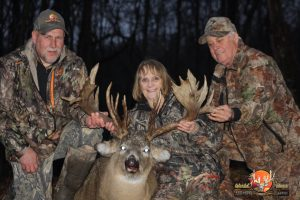 Rich.Karen.Barry.Trophy Whitetail
