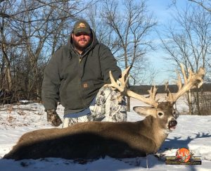 Whitetail Trophy Buck.Jason