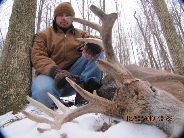 deer hunting lodge